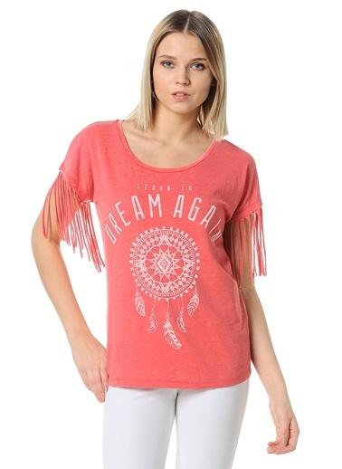 T-Shirt | Püskül Detaylı-Only